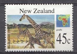 Nouvelle-Zélande 1994  Mi.nr.: 1367 Säugetiere Aus Aller Welt  Oblitérés / Used / Gestempeld - New Zealand