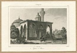İznik Nicaea Hagia Sophia Architecture Ottoman Empire Turkey Antique Engraving 1840 - Estampas & Grabados