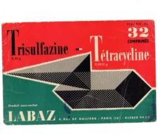 Buvard Trisulfazine Tetracycline Labaz Cachet Paris Comprimés Pharmacie Medicament - Chemist's