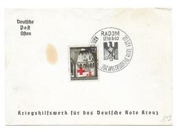 Deutsches Reich Generalgouvernement Rotes Kreuz Red Cross - Occupazione 1938 – 45