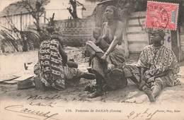 Sénégal Dakar Femmes Griots Femme Seins Nus Bébé + Timbre Sénégal Et Dépendances - Senegal
