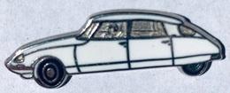 VOITURE - WHITE CAR - WEISSES AUTO - MACCHINA BIANCA - COCHE BLANCO - AUTOMOBILE - CITROËN DS BLANCHE -   (25) - Citroën