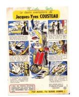 Buvard Jacques Yves Cousteau BD Alcool Boisson Sobre Numero 9 Plongeur Destin - Carte Assorbenti