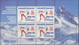 Greenland 1994 Team Grönland M/s  Mi Nr  5   Unmounted Mint.MNH/** - Groenlandia