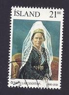 Island, 1990, Mi.-Nr. 724, Gestempelt - 1944-... Republic