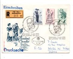 AUTRICHE FDC 1970 MODES - FDC