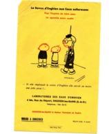 Buvard Savon D Enghien Eaux Sulfureuse Hygiene Peau Laboratoire Les Bains Station Thermale - Perfume & Beauty