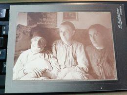 1916 CARDBOARD PHOTOGRAPH WRITTEN IN ARMENIAN... - Cartes Postales