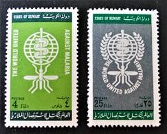 ERADICATION DU PALUDISME 1962 - NEUFS ** - YT 171/72 - Kuwait