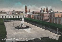 Cartolina - Postcard /  Viaggiata - Sent /  Monopoli, Piazza V. Emanuele. ( Gran Formato ) - Italy