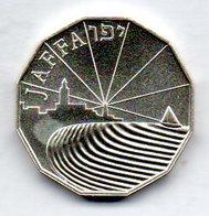 ISRAEL, 1/2 New Sheqel, Silver, Year 1989, KM #202 - Israel