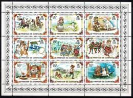 Tristan Da Cunha 1980 Christmas Minisheet MNH - Tristan Da Cunha
