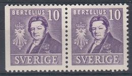 +Sweden 1939. Berzelius. Pair. Michel 272. MNH(**)/ MH(*) - Sweden