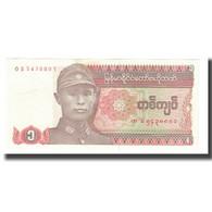 Billet, Myanmar, 1 Kyat, KM:67, TTB - Myanmar