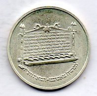 ISRAEL, 1 Sheqel, Silver, Year 1985, KM #161 - Israel