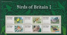 Großbritannien 2010 - ATM Mi.Nr. 3 - 8 - Postfrisch MNH - Tiere Animals Vögel Birds - Ohne Zuordnung