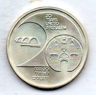 ISRAEL, 1 New Sheqel, Silver, Year 1987, KM #177 - Israel