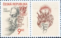 Czech Republic - 2002 - Master Jan Hus - Mint Stamp With Tab - Czech Republic