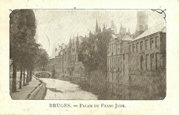 Brugge/Bruges. - Palais Du Franc Juge. - K. D. Feldpostexp. - 29/04/1915. - 4. Ersatz - Division. - WW I
