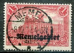 Memelgebiet Klaipeda French Mandate Mi# 9 Gebraucht/used - Building - Allemagne