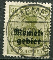 Memelgebiet Klaipeda French Mandate Mi# 16 Gebraucht/used - Germania - Territoires Soumis à Plébiscite