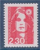 Marianne De Briat Dite Du Bicentenaire N°2614 Neuf 2.30 Rouge De Carnet - 1989-96 Bicentenial Marianne