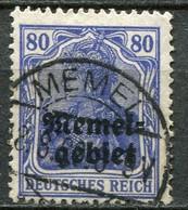 Memelgebiet Klaipeda French Mandate Mi# 17 Gebraucht/used - Germania - Allemagne