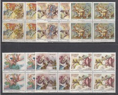Austria 1968 - Barocke Fresken, Mi-Nr. 1278/83, 4x, MNH** - 1945-.... 2nd Republic