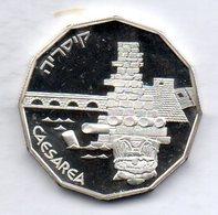 ISRAEL, 1 New Sheqel, Silver, Year 1988, KM #189 - Israel