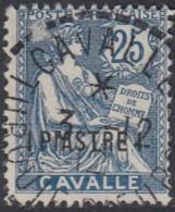 Cavalle Bureau Français - N° 13 (YT) N° 13 (AM) Oblitéré. - Usados
