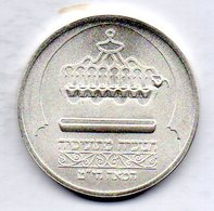 ISRAEL, 1 New Sheqel, Silver, Year 1988, KM #191 - Israel