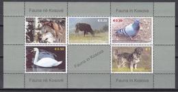 Kosovo 2006 - Mi.Nr. Block 1 - Postfrisch MNH - Tiere Animals - Kosovo