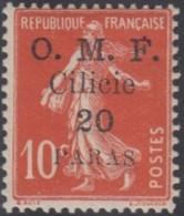 Cilicie Occupation Française - N° 91 (YT) N° 92 (AM) Neuf **. - Cilicia (1919-1921)