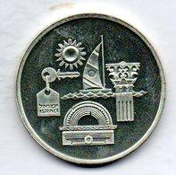 ISRAEL, 1 New Sheqel, Silver, Year 1993, KM #240 - Israel