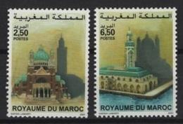 Maroc (2001) Yv. 1282/83   / Joint Issue With Belgium - Heritage - Architecture - Art - Gemeinschaftsausgaben
