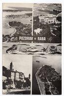 1964 YUGOSLAVIA,CROATIA,RAB TO BELGRADE,ILLUSTRATED POSTCARD,USED - Joegoslavië