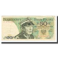 Billet, Pologne, 50 Zlotych, 1975, 1975-05-09, KM:142a, TB - Polen