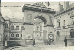 NANTES     (  LOIRE ATLANTIQUE   )   L' HÔTEL DE VILLE - Nantes