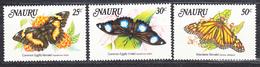 NAURU -  1984 - Papillons - Yvert 284/286  Neufs ** (L535) - Nauru