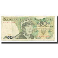 Billet, Pologne, 50 Zlotych, 1988, 1982-06-01, KM:142a, TB - Polonia