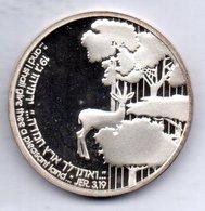 ISRAEL, 2 New Sheqalim, Silver, Year 1989, KM #200 - Israel