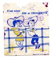 Buvard Jim Et Croquette Chaussure Rodeo - Blotters
