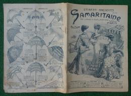 Catalogue Des Grands Magasins De La Samaritaine à Paris - Années 1900-1920 - Petits Métiers