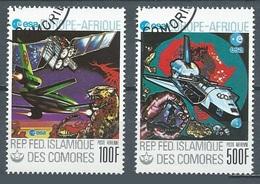 Comores Poste Aérienne YT N°157/158 ESA Europe-Afrique Oblitéré ° - Comores (1975-...)