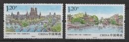 China (2014)  - Set #3 -   /  Joint Issue With France - Bridges - Ponts - Heritage - Gemeinschaftsausgaben