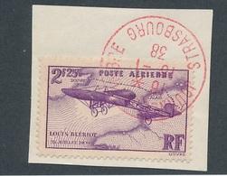 DM-109: FRANCE: Lot Avec PA  N°7 Obl Journée Du Timbre 1938 - Poste Aérienne