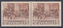+Sweden 1941. The Bible. Pair. Michel 281D. MNH(**) - Sweden