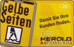 """TWK Österreich Privat: """"Herold - Gelbe Seiten"""" Gebr. - Oesterreich"""