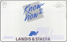 """TWK Österreich Privat: """"Landis & Staefa - Know How2"""" (705L) Gebr. - Oesterreich"""