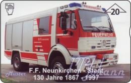 """TWK Österreich Privat: """"FF Neunkirchen"""" Gebr. - Oesterreich"""